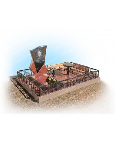 Мемориальный комплекс из гранита МК019