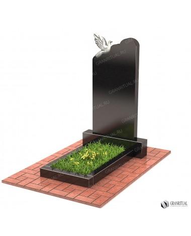 Памятник из гранита Резной Р036