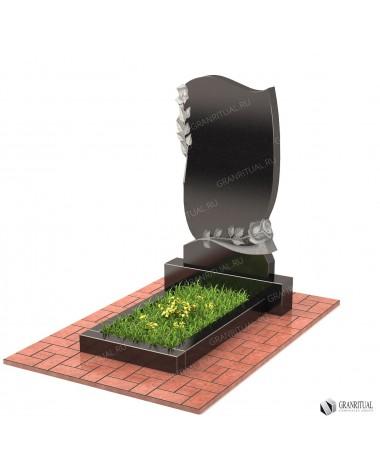 Памятник из гранита Резной Р018