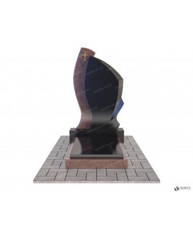 Памятник из гранита Комбинированный К019
