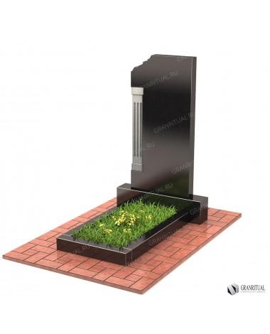 Памятник из гранита Резной Р011