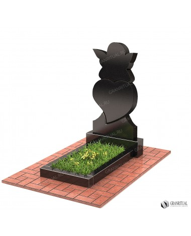 Памятник из гранита Резной Р073