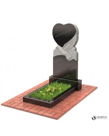 Памятник из гранита Резной Р041Памятник из гранита Резной Р041