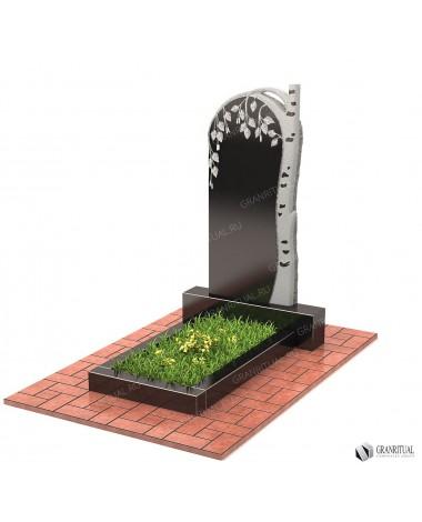 Памятник из гранита Резной Р025