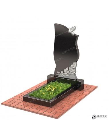Памятник из гранита Резной Р035