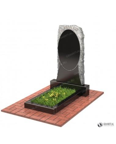Памятник из гранита Резной Р002