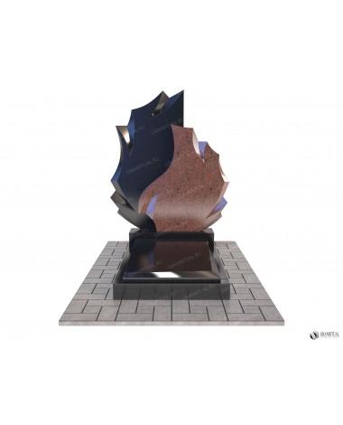 Памятник из гранита Комбинированный К001