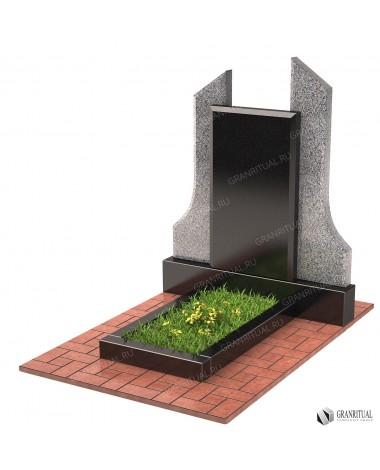Памятник из гранита двойной Д028