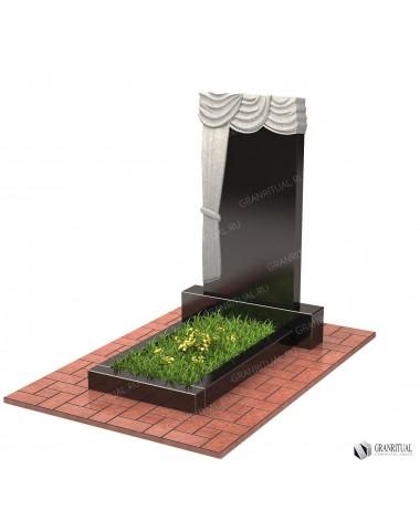 Памятник из гранита Резной Р005