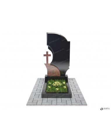 Памятник из гранита Комбинированный К014