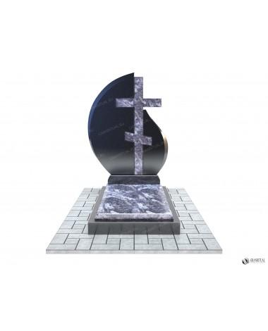 Памятник из гранита Комбинированный К043