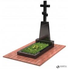 Памятник с крестом КР004
