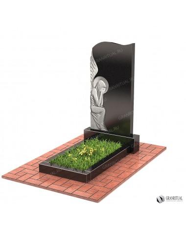 Памятник из гранита Резной Р057
