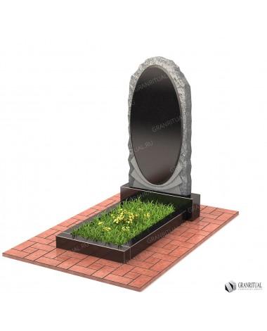 Памятник из гранита Резной Р070