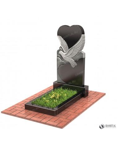 Памятник из гранита Резной Р042