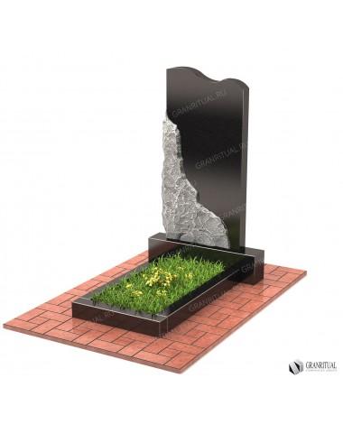 Памятник из гранита Резной Р008