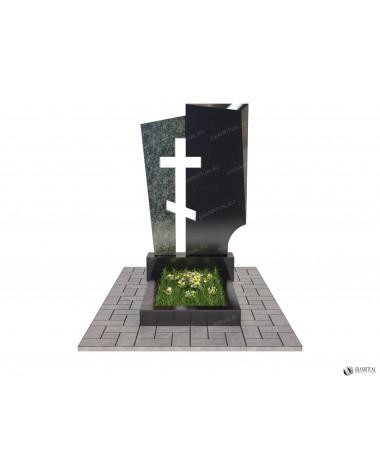 Памятник из гранита Комбинированный К048