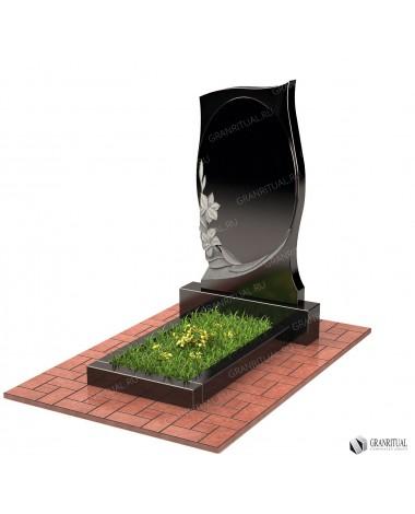 Памятник из гранита Резной Р003