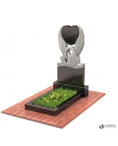 Памятник из гранита Резной Р043