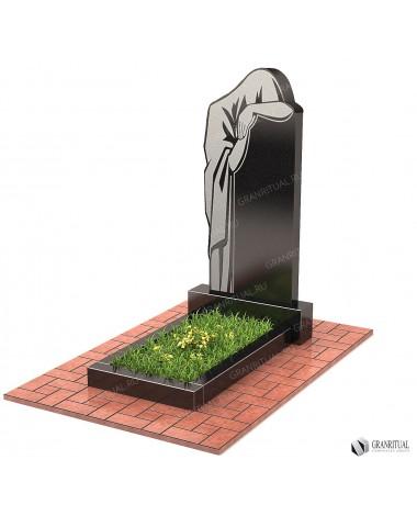Памятник из гранита Резной Р062