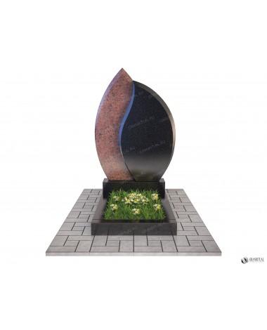 Памятник из гранита Комбинированный К013