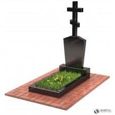 Памятник с крестом КР003