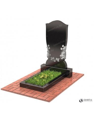 Памятник из гранита Резной Р034