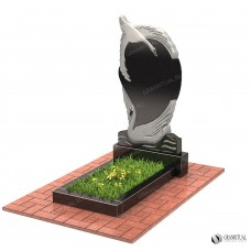 Памятник резной Р039