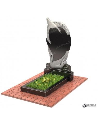 Памятник из гранита Резной Р039