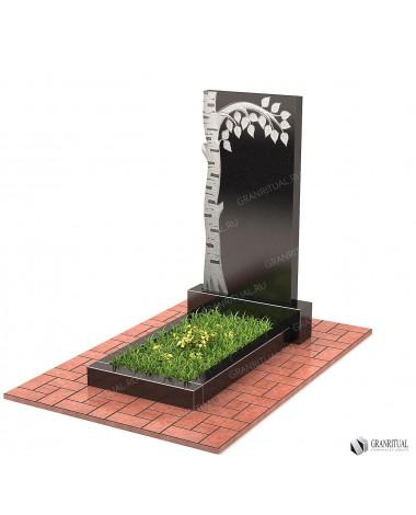 Памятник из гранита Резной Р060