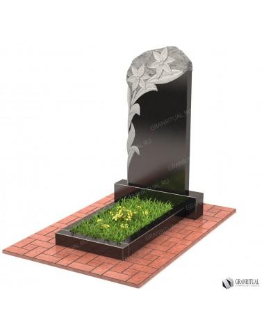 Памятник из гранита Резной Р020