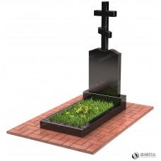 Памятник с крестом КР009