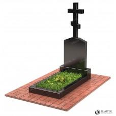 Памятник с крестом КР002