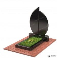 Памятник двойной Д004