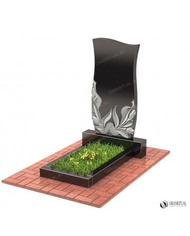 Памятник из гранита Резной Р014