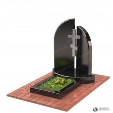 Памятник двойной Д001