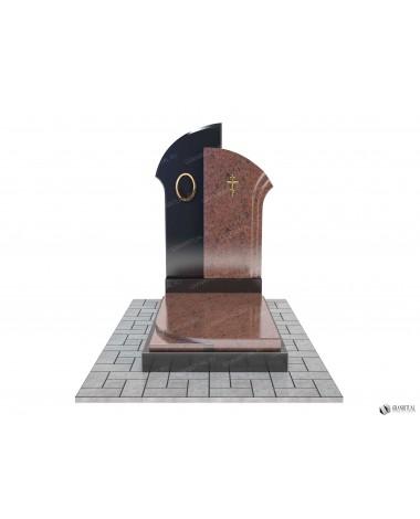 Памятник из гранита Комбинированный К021