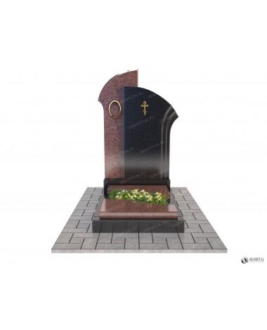 Памятник из гранита Комбинированный К002