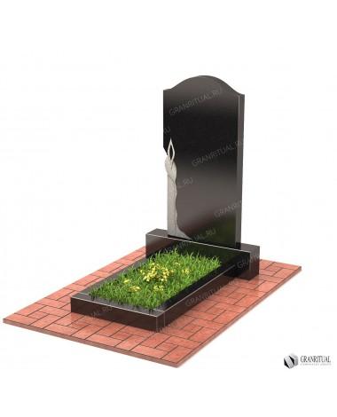 Памятник из гранита Резной Р012