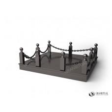 Ограда гранитная ГО 002